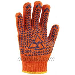 Extra Durable Gloves with PVC Pattern O10-29