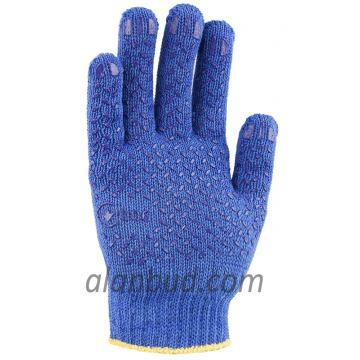 Рабочие перчатки с ПВХ точкой B10-33