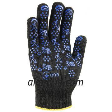 Рабочие перчатки с ПВХ точкой BK10-37