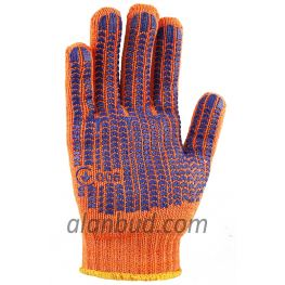 "Working gloves with PVC pattern O10-31 ""Durable"""